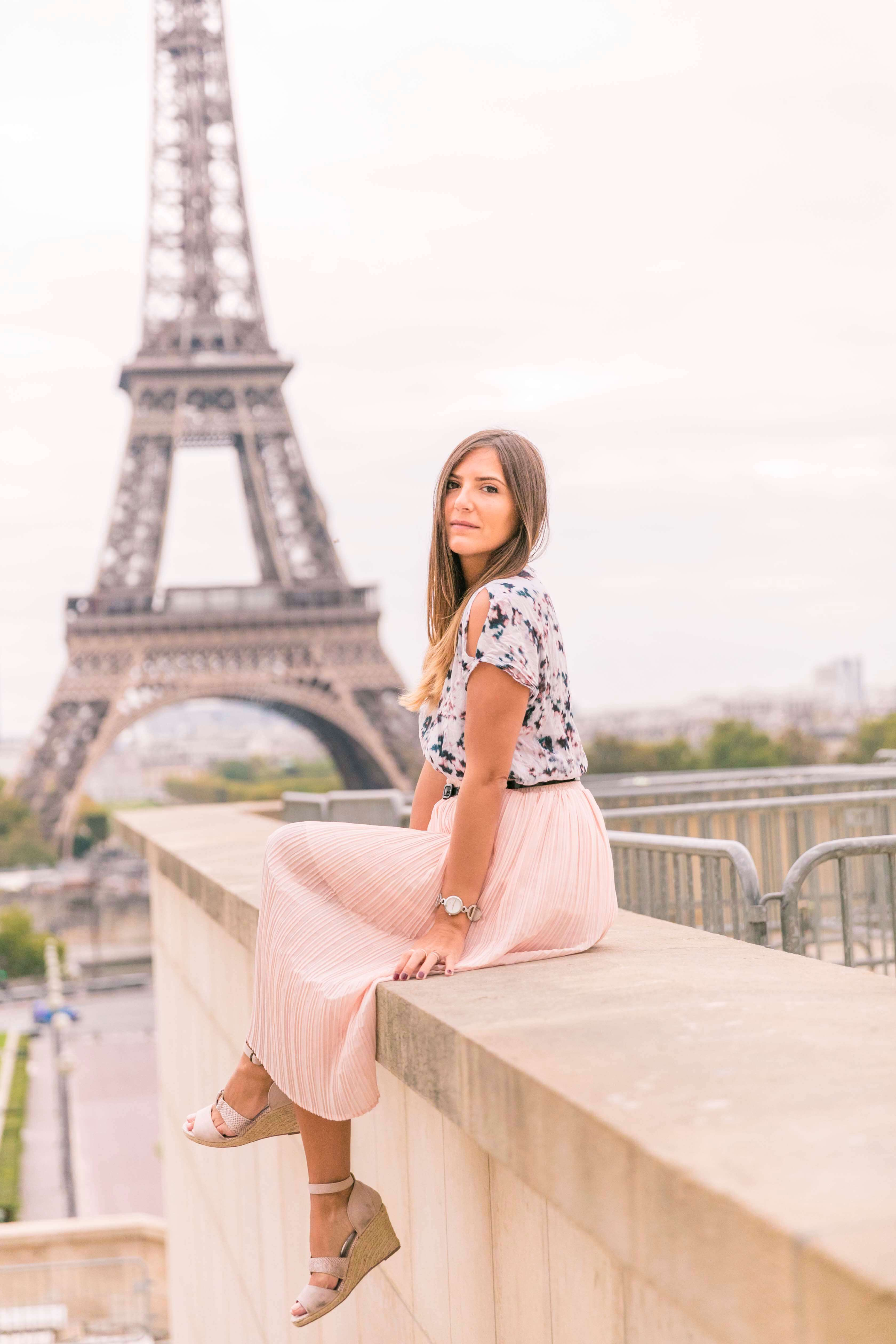 comment porter le look rose blog mode tendance