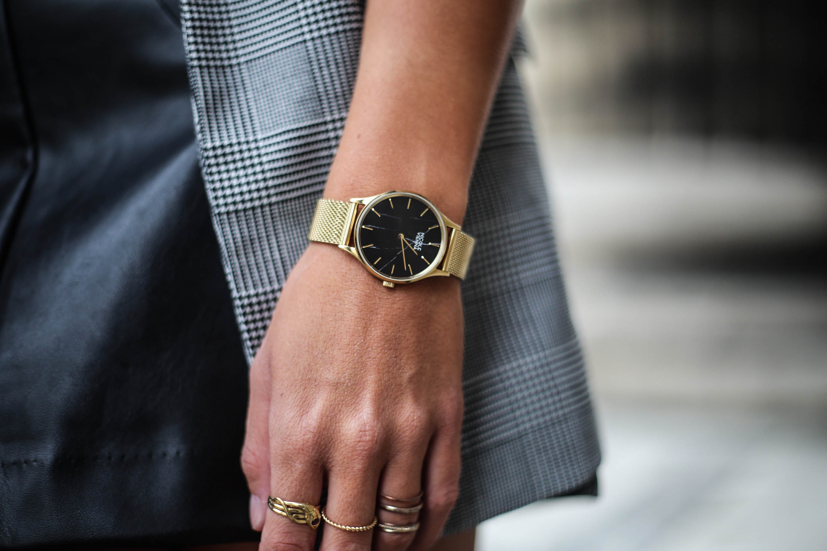 montre doree tendance blog mode