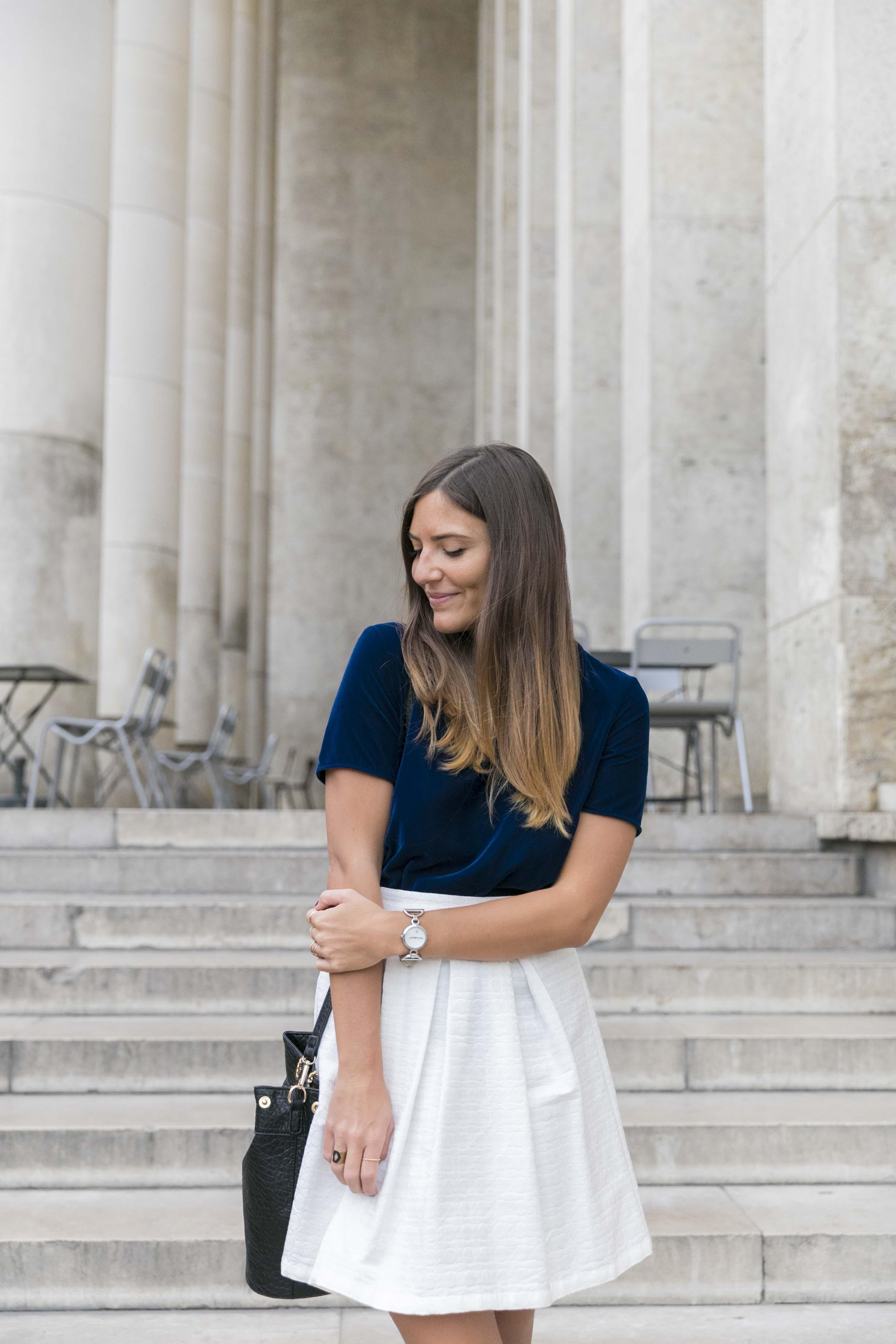 tendance avec du velours blog mode et tendance