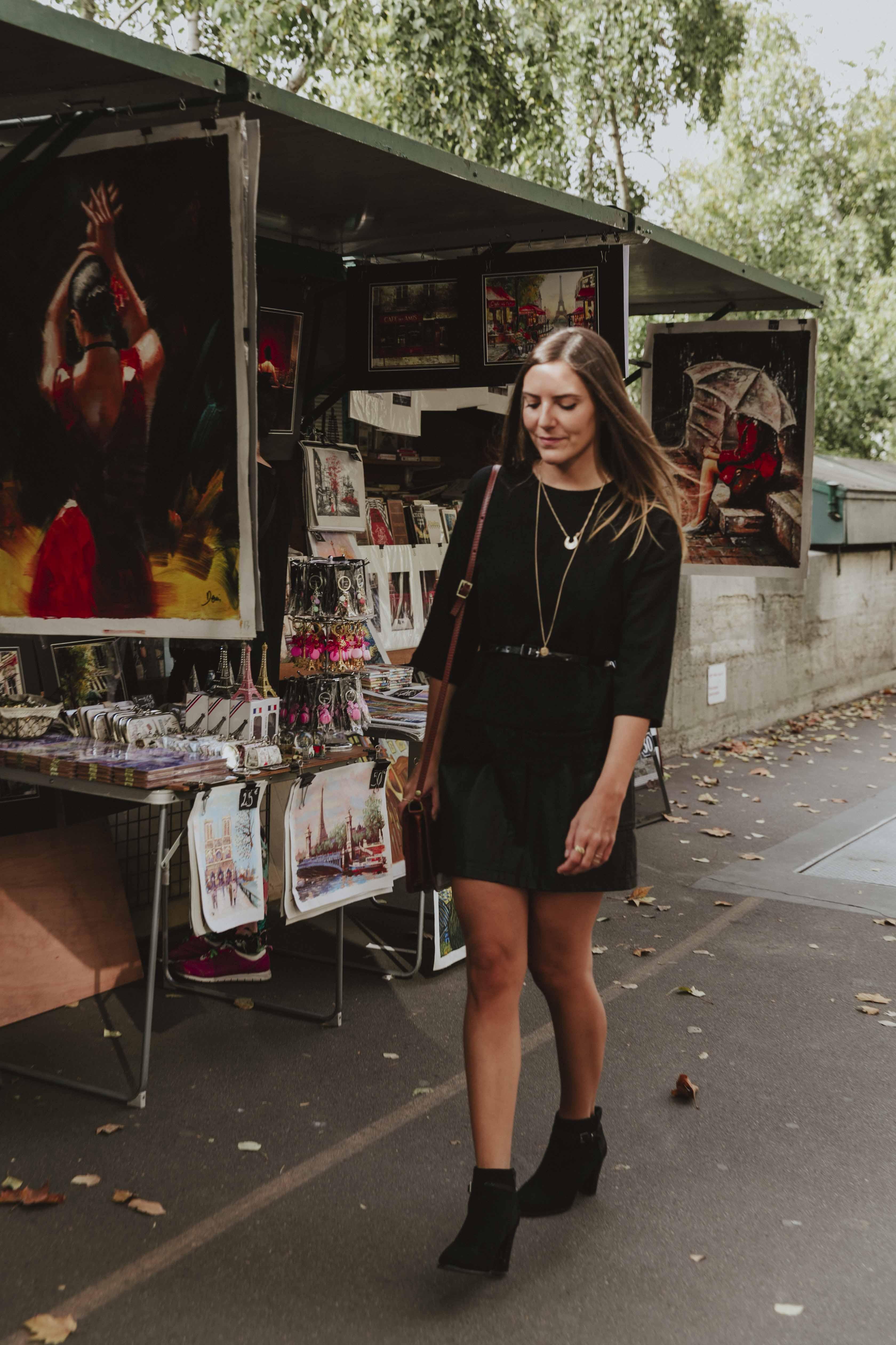 total look noir blog mode tendance