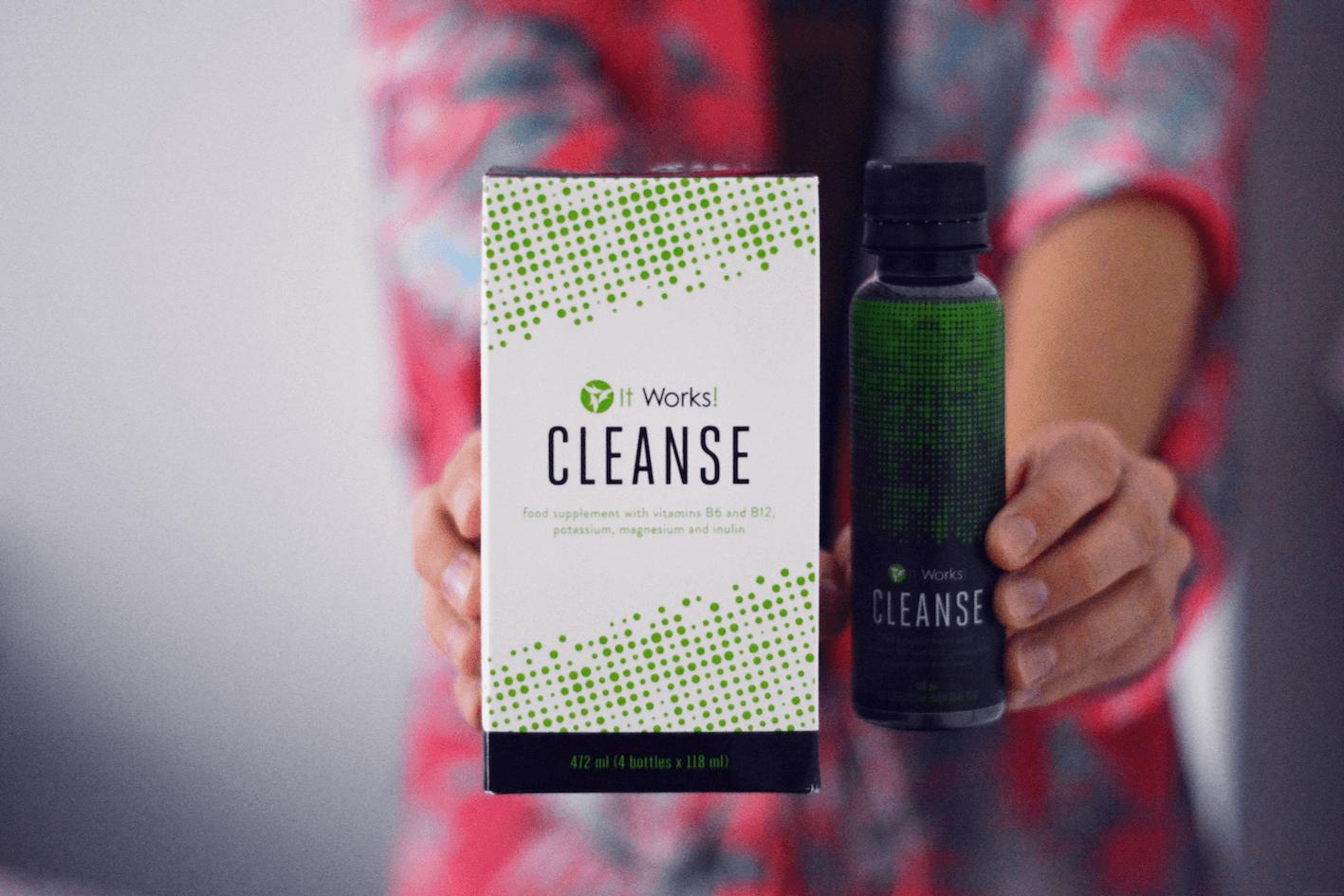 cleanse itworks - Les Caprices d'Iris