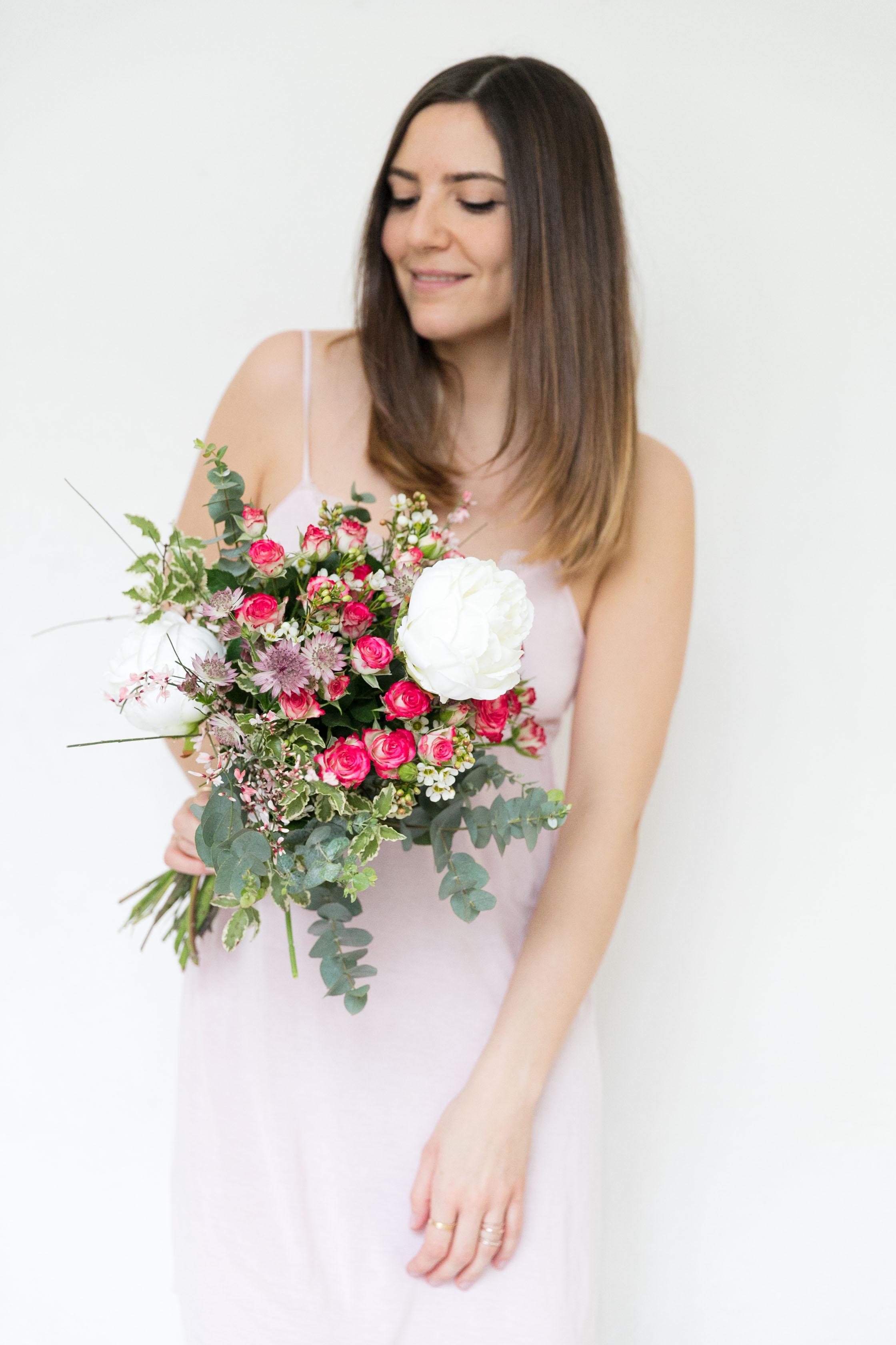 bouquet de fleurs paris