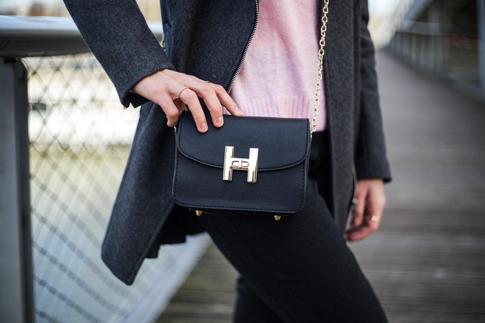 sac noir bon style paris