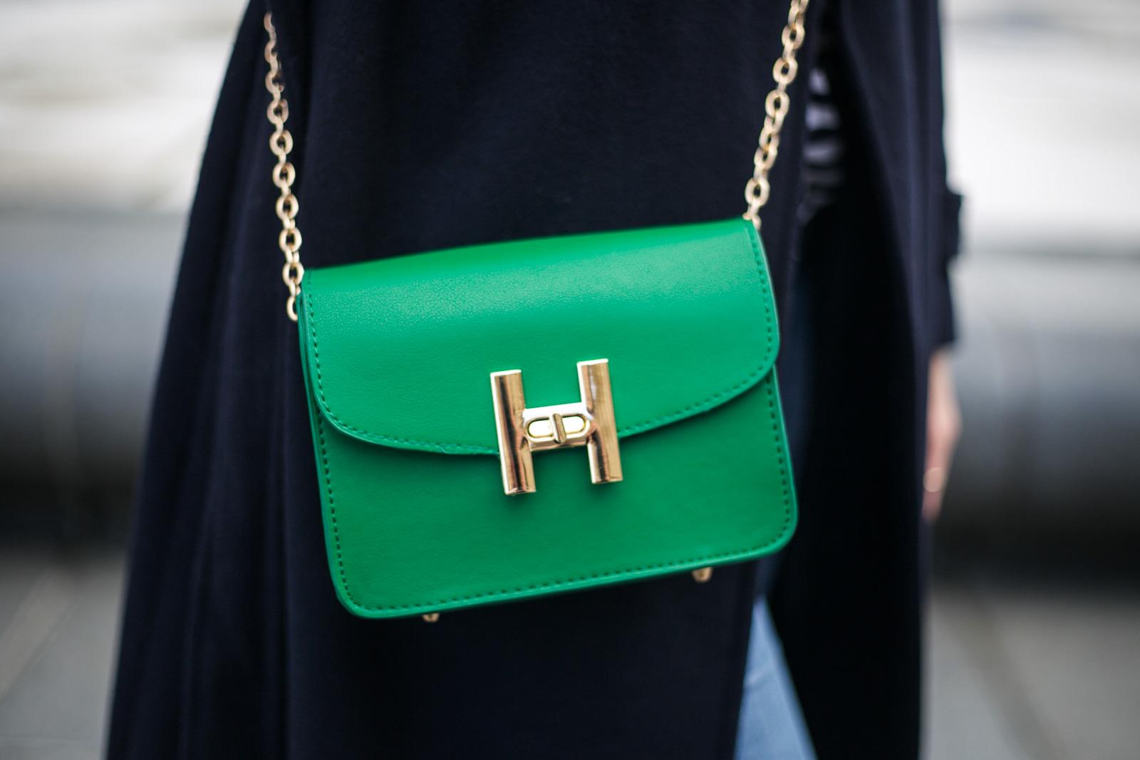 sac vert bon style