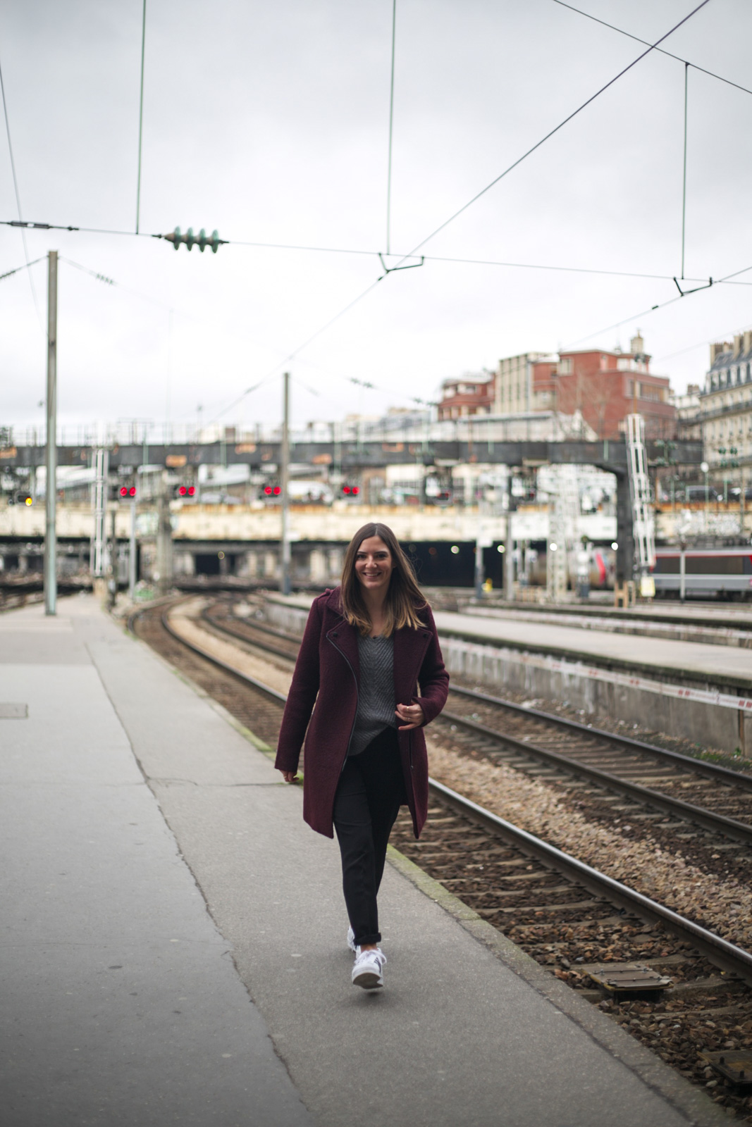 shooting a la gare saint lazare