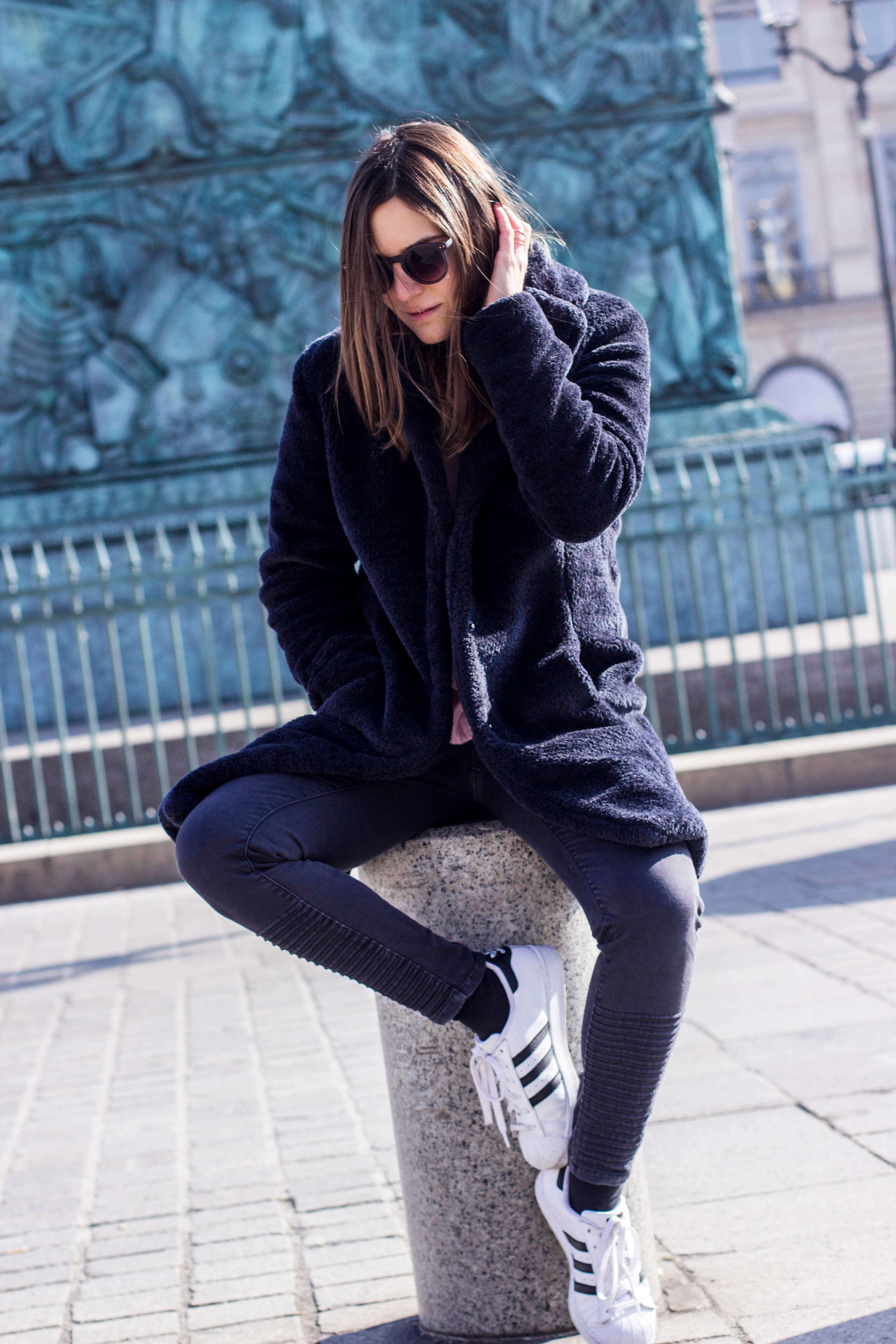 comment porter le gros manteau doudou