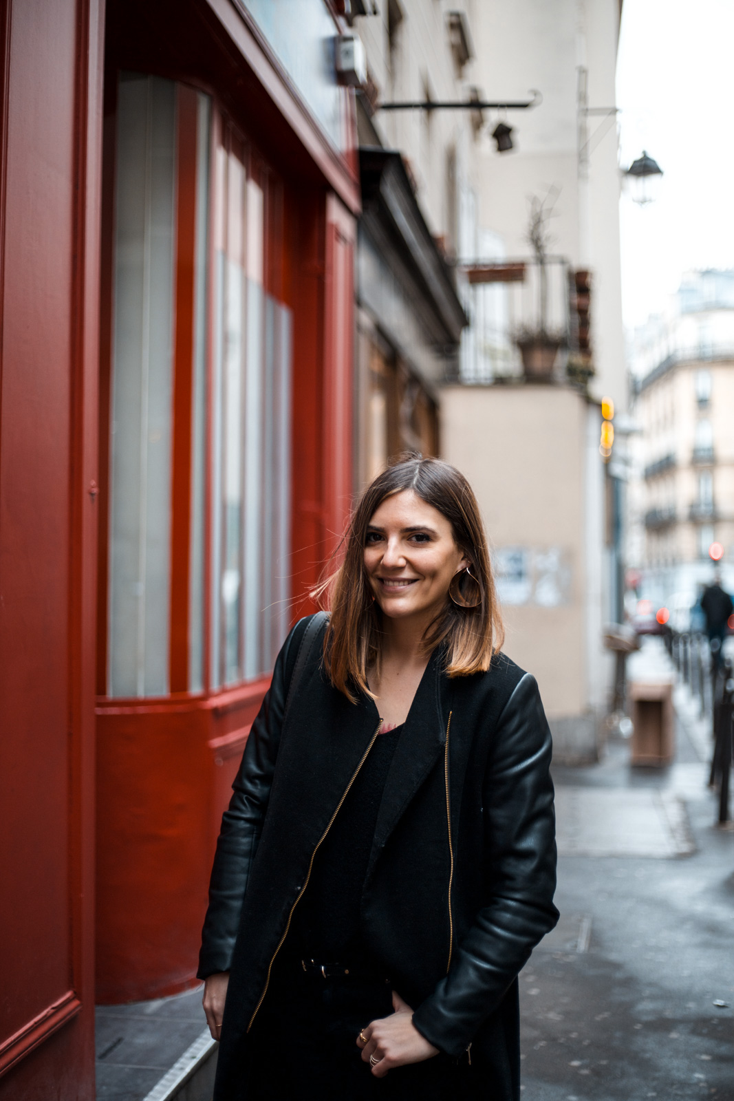 manteau simili cuir blog tendance paris