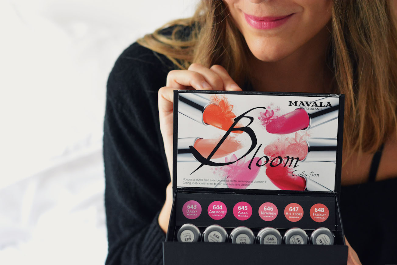 coffret bloom rouge a levres mavala