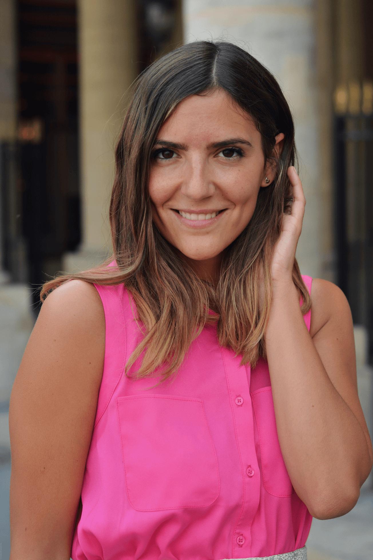 portrait blogueuse mode