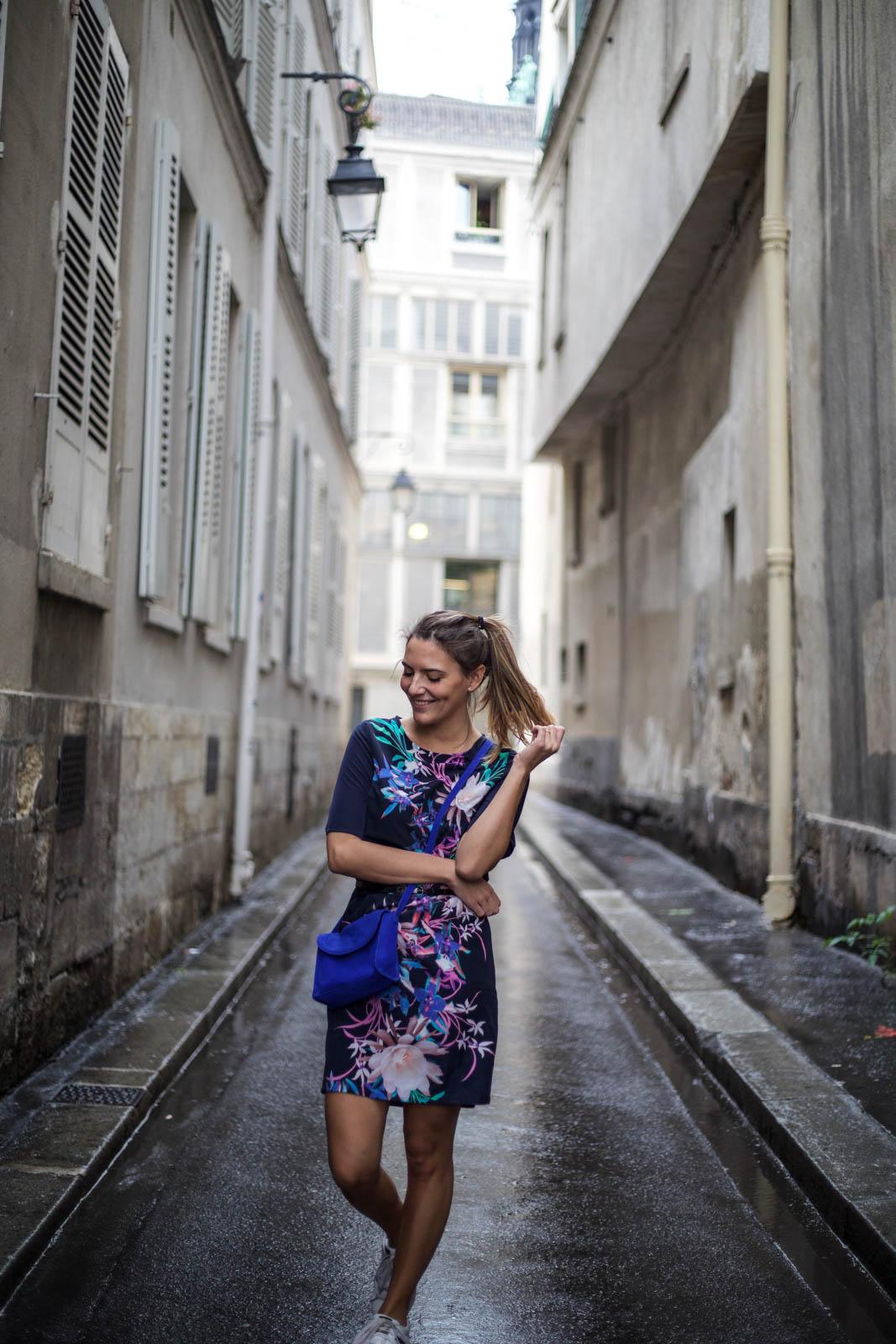 comment porter la robe fleurie