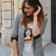 tshirt wonder woman etam