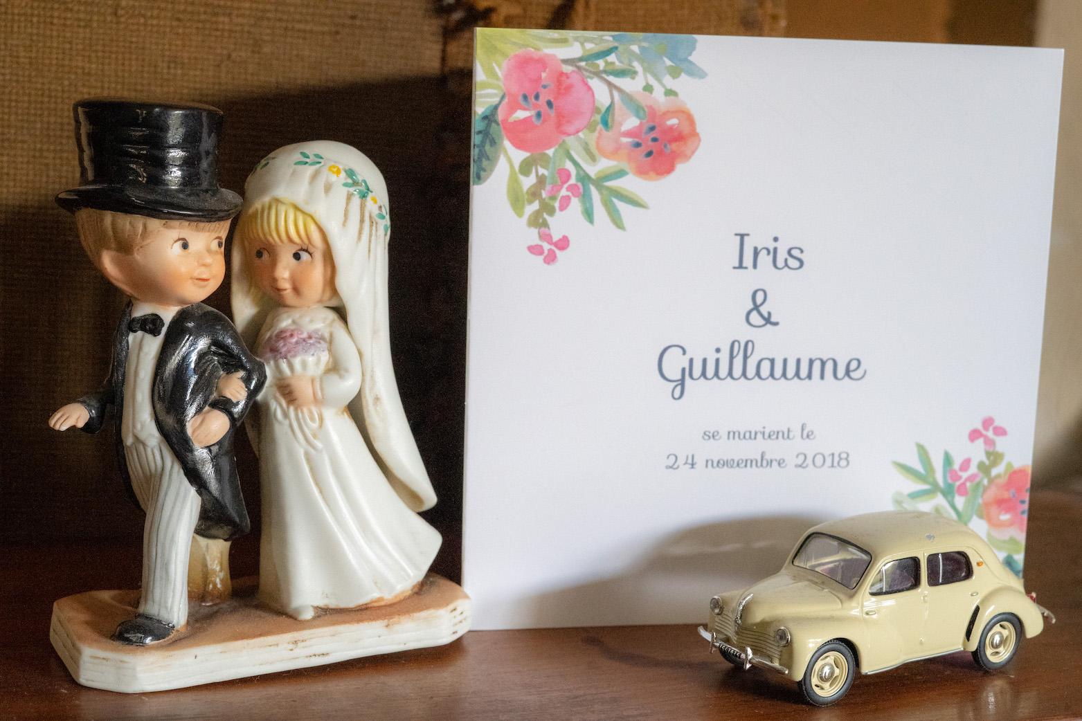 faire part de mariage pop carte