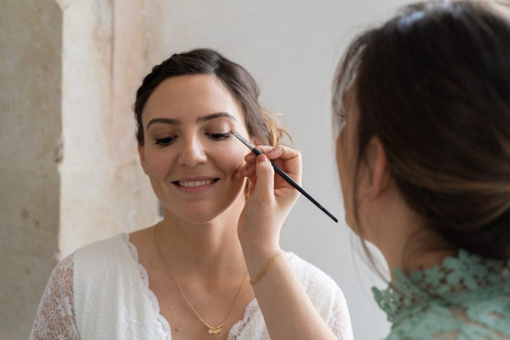 maquillage diy mariage