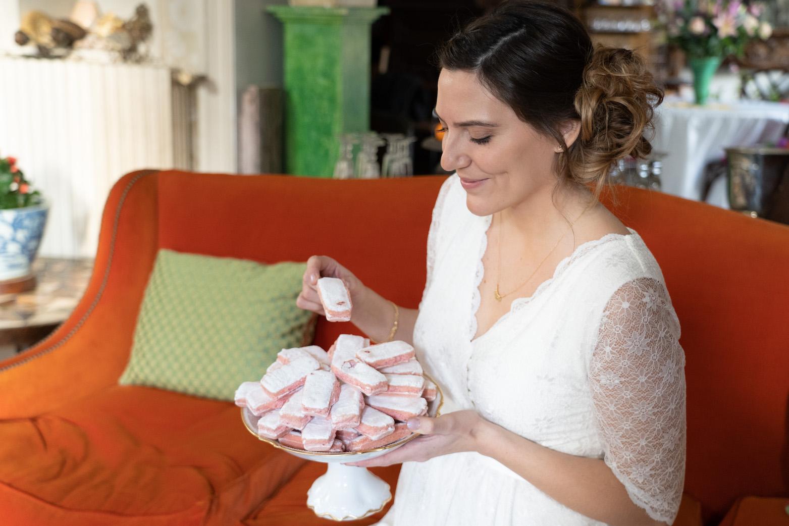 robe de mariee enceinte