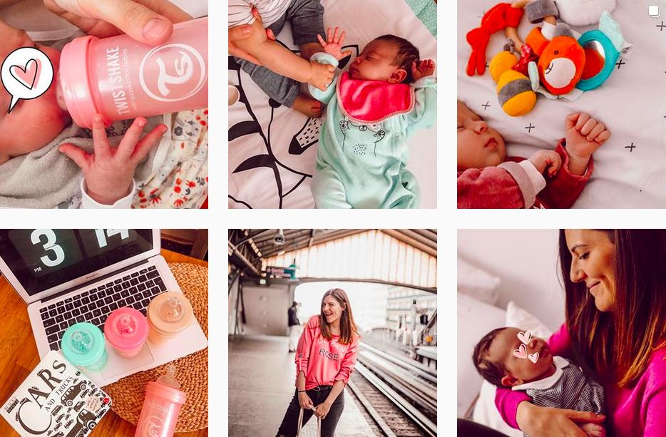 compte instagram maman