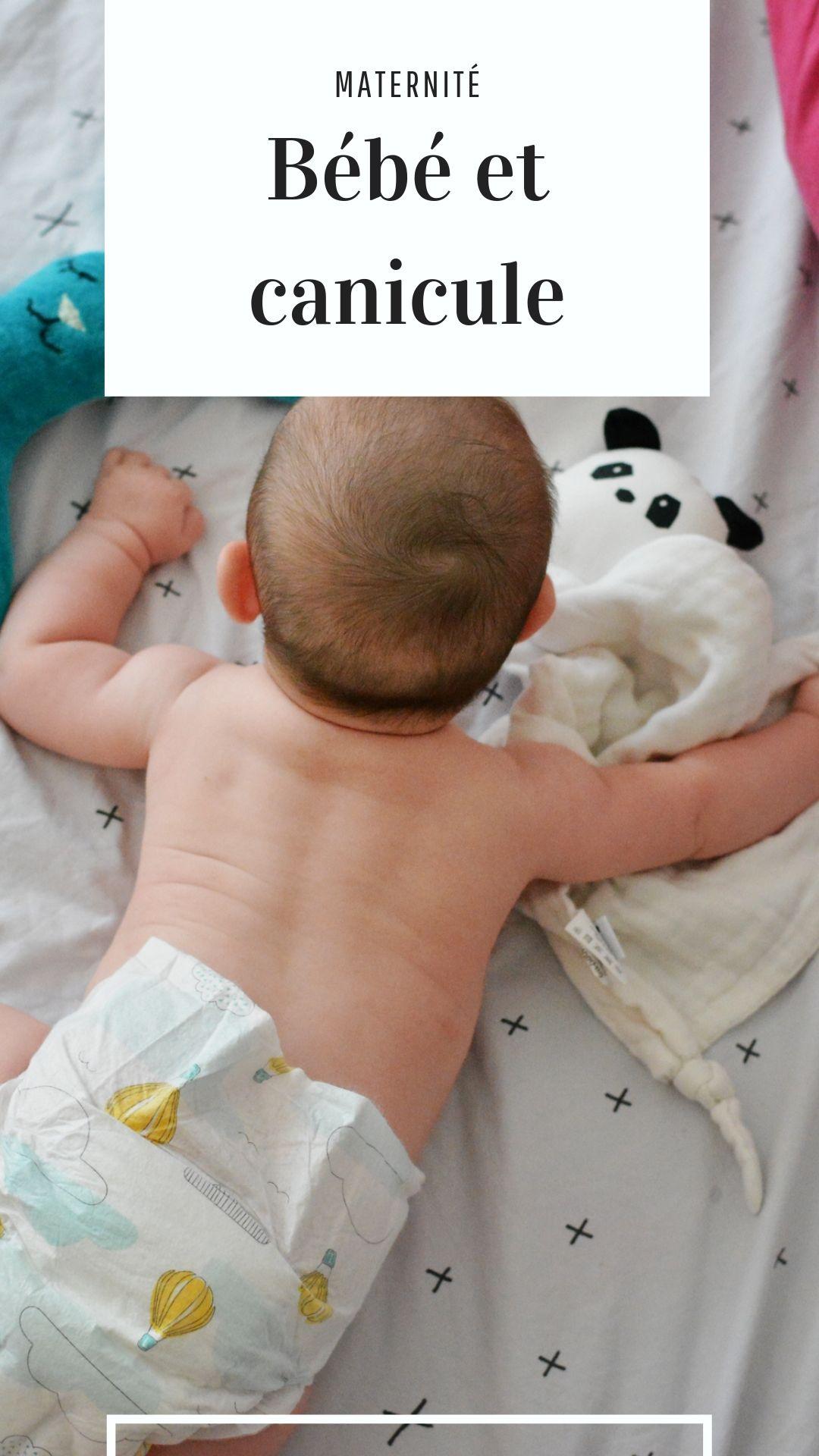 bebe et canicule