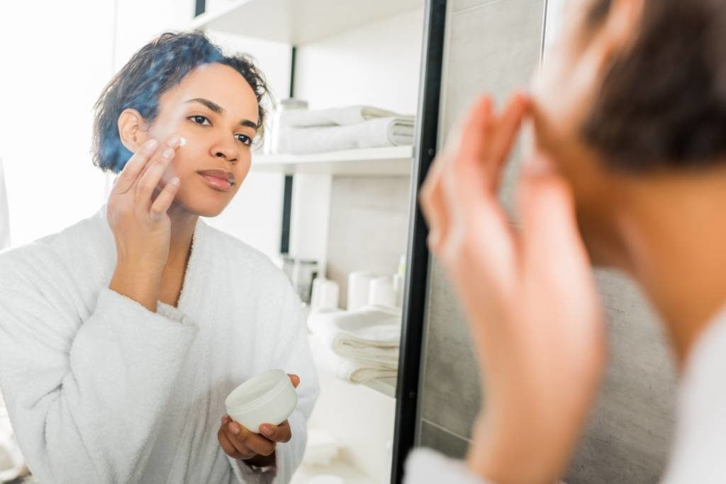 routine peau saine