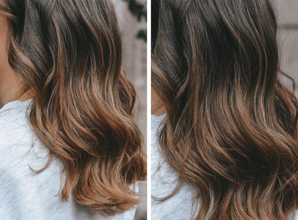 balayage caramel ombre hair