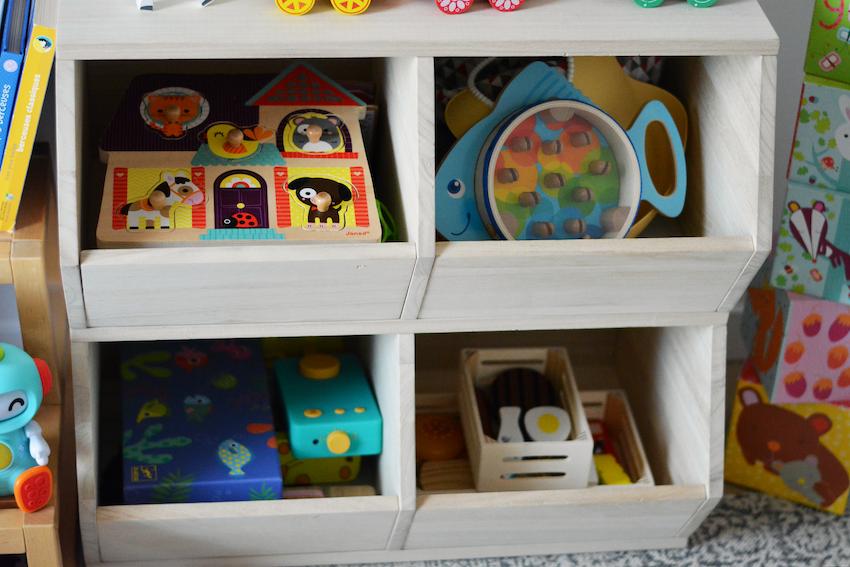 casiers rangement jouets