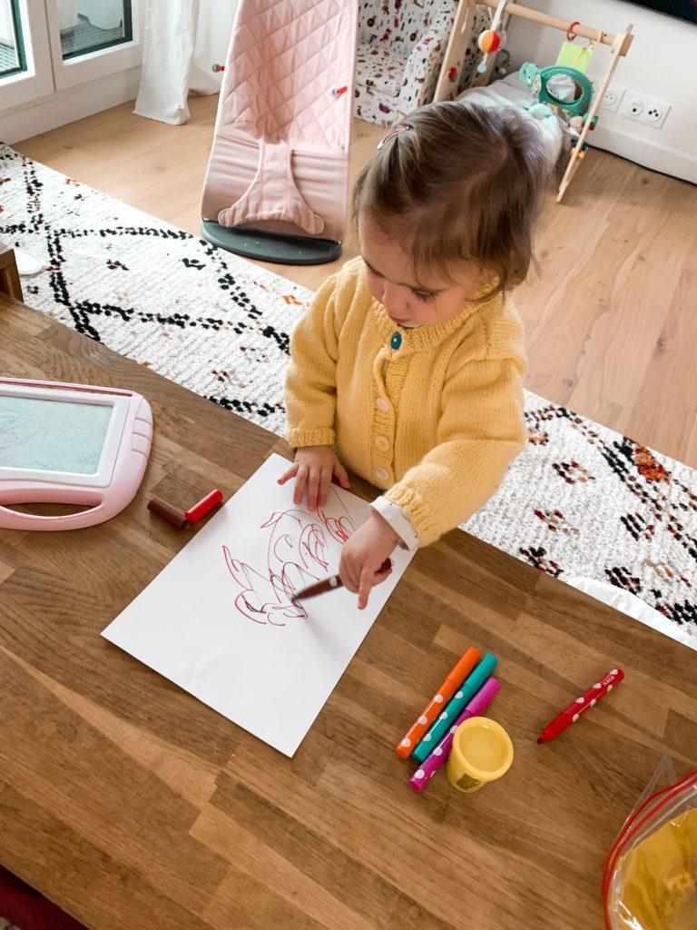 activite dessin bebe