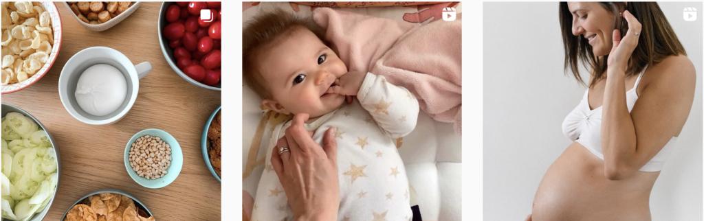 instagram maternite